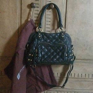Authentic Linea Pelle Quilted Dylan Handbag
